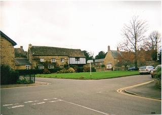 Kings Sutton village in United Kingdom