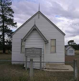 Kingstown, New South Wales - Church, Kingstown, NSW