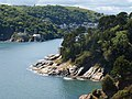 Kingswear Castle and the mouth of the Dart - geograph.org.uk - 1353334.jpg