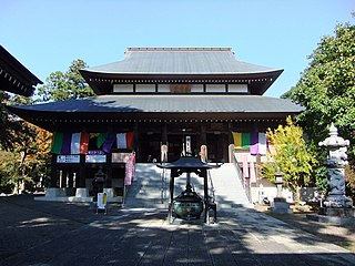 Buddhist temple in Chiba Prefecture, Japan