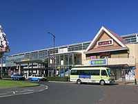 Kita-Koshigaya Station West Entrance 2.jpg