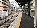 Kitano Hakubai cho station viewing west 20200506.jpg