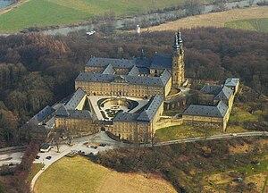 Kloster Banz Luftbild