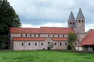 Bursfelde Abbey - Bursfelde Abbey in 2010 showing the church