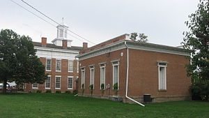 National Register of Historic Places listings in Knox County, Illinois - Image: Knox County Courthouse and Hall of Records