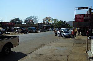Komatipoort - A street in Komatipoort