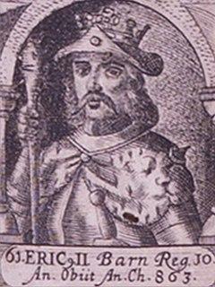 Horik II King of the Danes