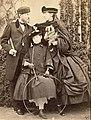 Konstantin, his wife Alexandra with their daughter Olga.jpg
