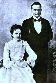Konstantin Päts and his wife Helma.