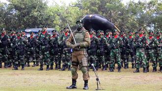 Kostrad - Kostrad soldiers