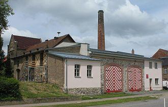 Kloster Lehnin - Image: Krahne fire station