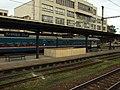 Kralupy nad Vltavou, nádraží, příměstská jednotka v atypickém nátěru II.JPG