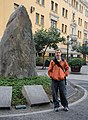 Kris in Plaza de Armas.jpg