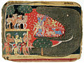 Krishna to the rescue- the jaws of the demon Aghasura are pried open (6125093246).jpg