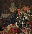 Kristian Zahrtmann - The Death of Queen Sophie Amalie - Google Art Project.jpg