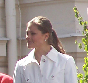Crown princess Victoria of Sweden at the Swedi...