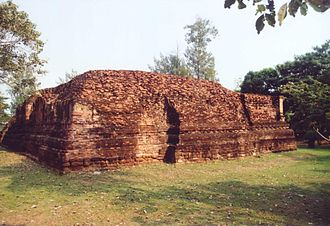 Ratchaburi Province - Wat Khlong, the largest ruin of Khu Bua
