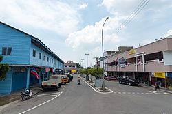 Kuala Penyu town centre.