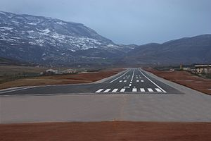 Kukës International Airport Shaikh Zayed - Image: Kukës Airport
