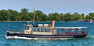 Royal Canadian Yacht Club - Kwasind (1912), Royal Canadian Yacht Club launch built by Polson Iron Works.
