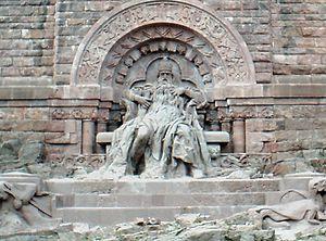 Barbarossa city - Kyffhäuser Monument with Frederick Barbarossa