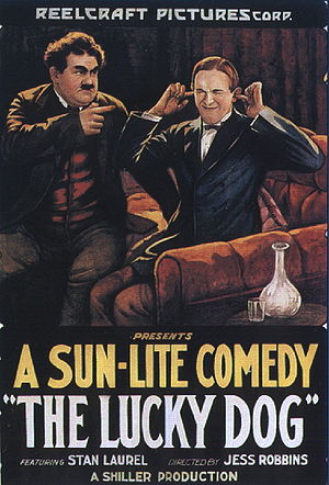 The Lucky Dog - Theatrical poster