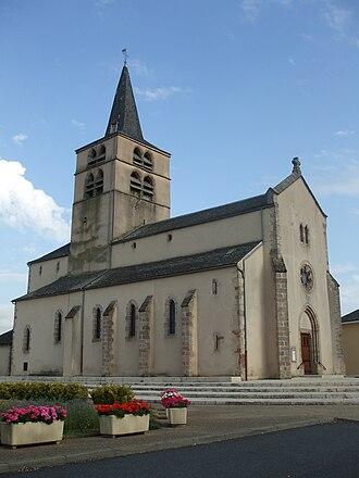 Luc-la-Primaube - The church in Luc-la-Primaube