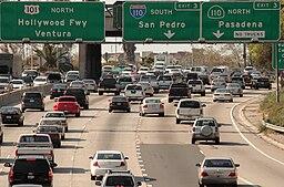 LA freeway 2009