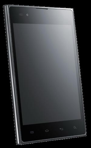 LG Optimus Vu - LG Optimus Vu Front