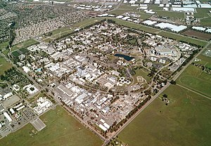 Aerial view of Lawrence Livermore National Lab...