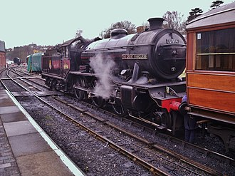 LNER Gresley K4 61994 The Great Marquess - Image: LNER Class K4 No 61994 The Great Marquess (8063199467)