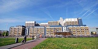 Leiden University Medical Center Hospital in ZA Leiden, Netherlands