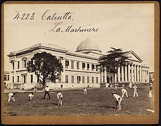 Education in India - La Martiniere Calcutta, regarded as one of the best schools in the country
