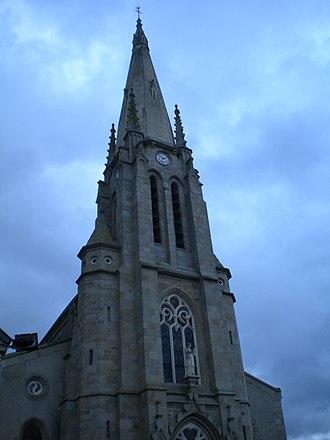 La Boissière-de-Montaigu - The church of Our Lady of the Assumption, in La Boissière-de-Montaigu