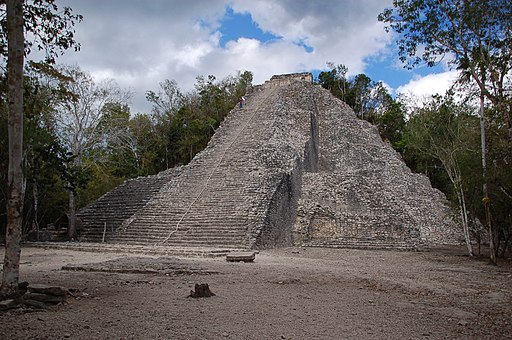 La pyramide Nohoch Mul (8453085740)