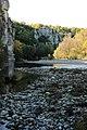 La rivière La Beaume sous les ombres et lumières d'un mois de novembre.jpg
