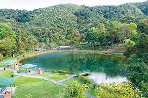 Guaramacal National Park - Image: Laguna Los Cedros (11846232765)