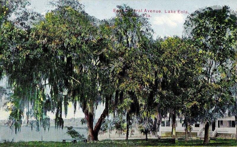Lake Eola from East Central Blvd., Orlando, FL.jpg