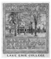 Lake Erie College bookplate.png