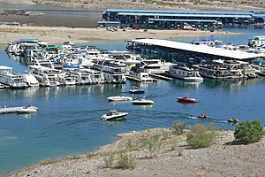 Callville Marina am Lake Mead