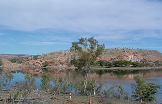 Lake Moondarra - Image: Lake Moondarra