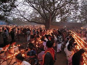 Naduvil and Kudianmala - Light festival at Ayyappa Temple, Naduvil