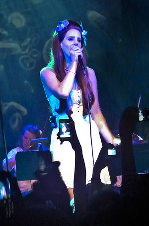 "Lana Del Rey videography - Lana Del Rey performing ""Body Electric"" at the Irving Plaza in 2012"