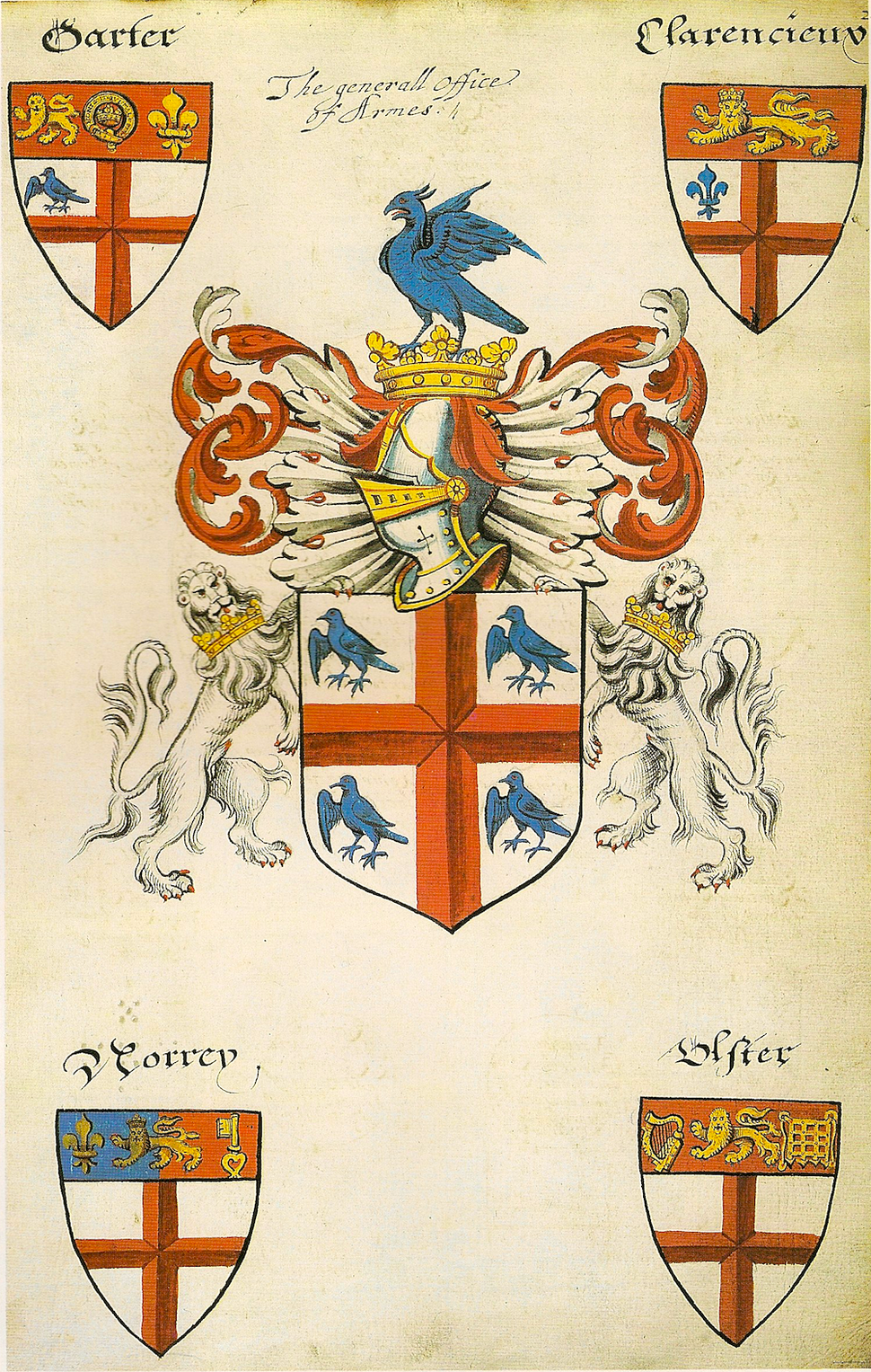 Lant's Roll Achievents of the College of Arms