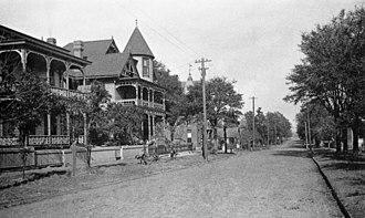 Laura Street - Laura Street in 1894.