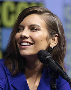 Lauren Cohan San Diegon Comic-Conissa 2018.