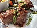 Le Canard pressé (restaurant) - Pluma de porc iberica mariné au piment de la Vera (3).jpg