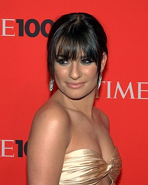 English: Lea Michele at Time 100 Gala