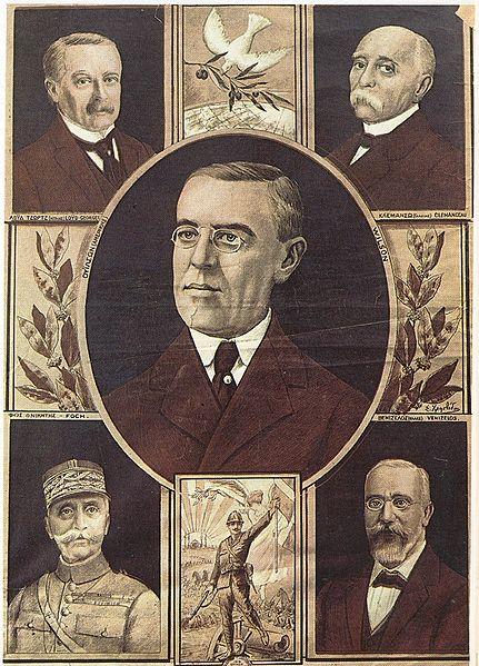 Archivo: Los líderes de las potencias aliadas en I.jpg Guerra Mundial