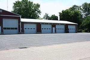 Leaf River, Illinois - Leaf River Fire Station